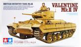 Tamiya 35352 British Infantry Tank Valentine Mk.II/IV 1/35 scale kit