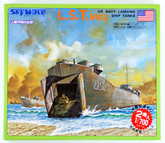 Pit-Road Skywave SW-04 U.S. Navy Landing Ship Tanks L.S.T MK2 1/700 scale kit