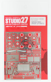 Studio27 ST27-FP2411R Nissan R89C Grade Up Parts for Tamiya 1/24