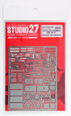 Studio27 ST27-FP24180 Alfa Romeo 155 V6 T1 Grade Up Parts for Tamiya 1/24