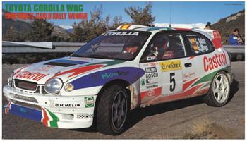 Hasegawa 20266 Toyota Corolla WRC 1998 Monte-Carlo Rally Winner 1/24 scale kit