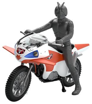 Bandai 197508 Kamen (Masked) Rider NEW CYCLONE non scale kit (Mecha Collection Kamen Rider No.1)