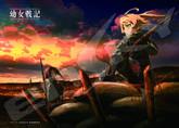 Ensky Jigsaw Puzzle 500-309 Japanese Anime Saga of Tanya the Evil (500 Pieces)