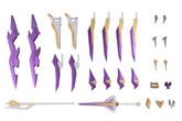 Kotobukiya FA053 Frame Arms Extend Arms 06 Arsenal Arms 1/100 Scale Kit