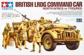 Tamiya 32407 British LRDG Command Car North Africa (w/7 Figures) 1/35 scale