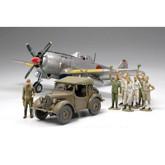Tamiya 89761 Japanese Military Aircraft Set w/4x4 1/48 scale kit
