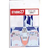 Studio27 ST27-DC912 Honda RC212V HRC #72 Moto GP 2011 Decal for Tamiya 1/12