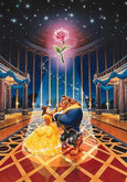 Tenyo Japan Jigsaw Puzzle D-108-839 Disney Beauty and the Beast (108 Pieces)