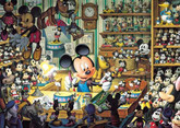 Tenyo Japan Jigsaw Puzzle D-108-938 Disney Mickey Mouse (108 Pieces)