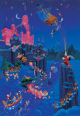 Tenyo Japan Jigsaw Puzzle D-108-981 Disney Mickey Mouse Magical (108 Pieces)