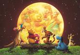 Tenyo Japan Jigsaw Puzzle D-300-180 Disney Winnie-the-Pooh (300 Pieces)