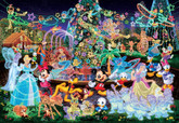 Tenyo Japan Jigsaw Puzzle D-500-391 Disney All Characters (500 Pieces)