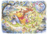 Tenyo Japan Jigsaw Puzzle D-500-421 Disney Winnie-the-Pooh (500 Pieces)