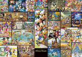 Tenyo Japan Jigsaw Puzzle DG-2000-533 Disney Mickey Mouse Art (2000 Pieces)