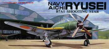 Fujimi F01 Navy Aichi Ryusei B7a1 Shooting Star Quot 1 72