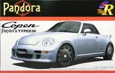 Aoshima 42434 Daihatsu Copen Pandora Type 830 1/24 scale kit