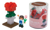 Kawada ML-030 nanoblock Thank You (Flower)