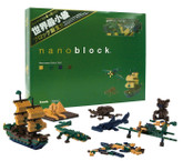 Kawada NB-003 nanoblock Darktone Color Set (Dark Tone)