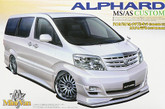 Aoshima 46791 Toyota Alphard MS/AS (Custom Model) 1/24 scale kit