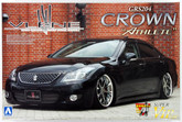 Aoshima 47392 Toyota Crown Athlete (GRS204) VLENE Styling 1/24 scale kit