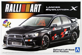 Aoshima 47842 Mitsubishi Lancer Evolution X RALLIART Version 1/24 scale kit