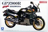 Aoshima Naked Bike 05 42878 Kawasaki GPZ900R Ninja 2002 1/12 scale kit