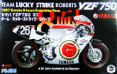 Fujimi Bike-06 Yamaha YZF750 1987 Team Lucky Strike Roberts 1/12 scale kit