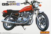 Aoshima Naked Bike 11 42472 Suzuki GS400E 1/12 scale kit