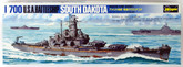 Hasegawa Waterline 607 U.S.A. Battleship South Dakota 1/700 Scale Kit