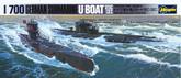Hasegawa Waterline 901 German U-Boat 7C/9C Submarine 1/700 Scale Kit