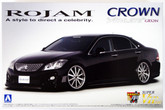 Aoshima 49402 Toyota Crown Athlete (GRS204) ROJAM 1/24 scale kit