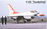 "Arii 622025 F-16C ""Thunderbirds"" (3 planes) 1/144 scale kit (Microace)"