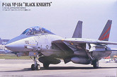 "Arii 621691 F-14A VF-154 ""BLACK KNIGHTS"" 1/144 scale (Microace)"