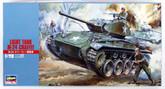 Hasegawa MT19 Light Tank M-24 Chaffee 1/72 Scale Kit