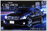 """Aoshima 49396 Toyota Crown Athlete"""" 2010 (GRS204) 1/24 scale kit"""""""