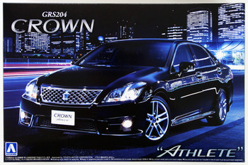 "Aoshima 49396 Toyota Crown Athlete"" 2010 (GRS204) 1/24 scale kit"""