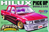 Aoshima 31629 Toyota Hilux Double Cab Lowrider (Pick Up Truck) 1/24 scale kit