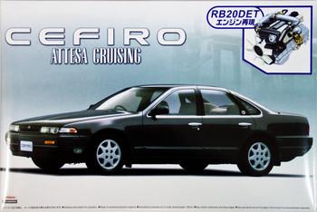 Aoshima 42564 Nissan Cefiro (A31) Attesa with RB20DET Engine 1/24 scale kit