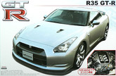Aoshima 42847 Nissan GT-R (R35) with VR38DETT Engine 1/24 scale kit