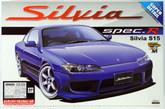 Aoshima 04210 Nissan Silvia S15 Spec.R Aero Ver. Super Detail 1/24 scale kit