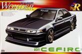Aoshima 03718 Nissan Cefiro (A31) WONDER Car Modify 1/24 scale kit