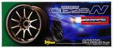 Aoshima 05545 Tire & Wheel Set VOLK Racing CE28N 19 inch 1/24 scale kit