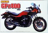 Aoshima Naked Bike 14 47552 Kawasaki GPz400 1983 1/12 scale kit