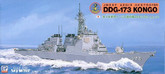 Pit-Road Skywave J-11 JMSDF DDG-173 Kongo 1/700 scale kit