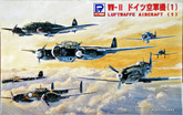 Pit-Road Skywave S-17 German Luftwaffe Aircraft 1 1/700 scale kit