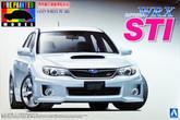 Aoshima 04906 Subaru Impreza WRX STi White 1/24 scale kit (Pre-painted Model)