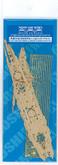 Aoshima 43363 IJN FUSO 1938 Deck Sheet & Photo Etched Parts 1/700 scale