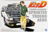 Aoshima 03206 Initial D T.Fujiwara 86 Trueno (Comics Vol.1 Ver.) 1/24 scale kit