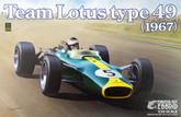 Ebbro 20004 Team Lotus type 49 (1967) 1/20 scale plastic model kit