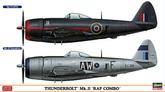 "Hasegawa 02033 Thunderbolt Mk.II RAF COMBO"" (2 plane set) 1/72 Scale Kit"""